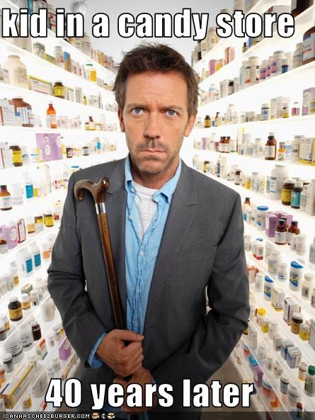 candy,drugs,House MD,hugh laurie,television