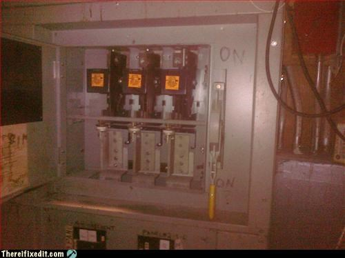 electrical hazard,label,not good,toggle switch