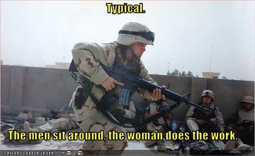 soldiers women work - 2961706752