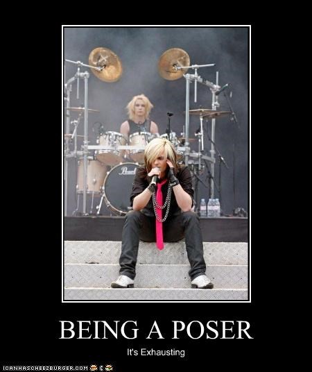 singers,exhausting,live performance,poser,singer