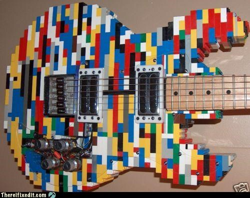 epic guitar Hall of Fame lego win - 2964598272