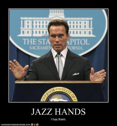 JAZZ HANDS I has them.