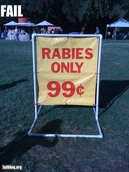cheap deal g rated rabies - 2968300032