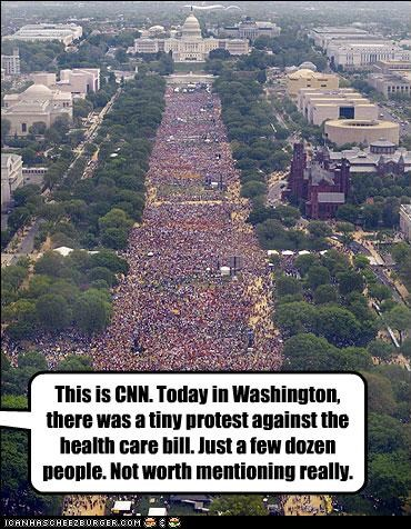 cnn health care march Protest rally washington dc - 2969206016
