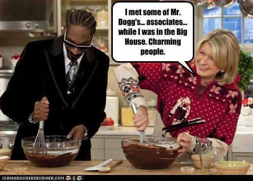 cooking,drugs,Martha Stewart,snoop dogg,television