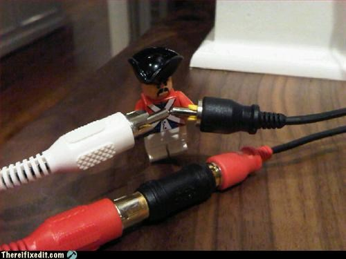 component cable Hall of Fame lego not intended use