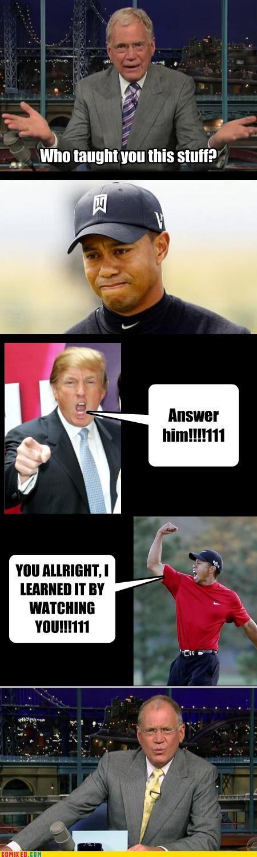 celebutard cheaters Dave Lettmen Tiger Woods - 2973358848