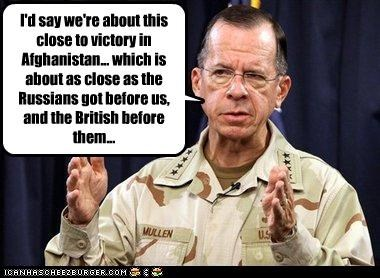 admiral mike mullen afghanistan British chairman of the joint chiefs of staff russian victory war