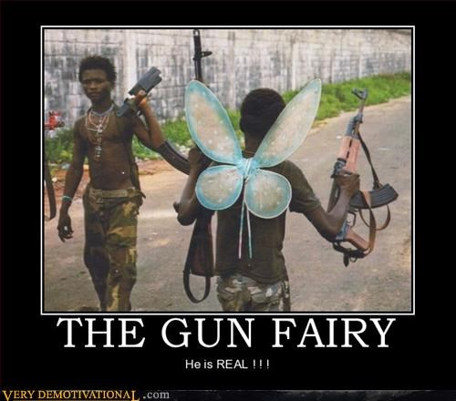 fairy guns hilarious wtf - 2977793024