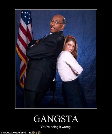 doing it wrong gangster michael steele Republicans rnc - 2978137600