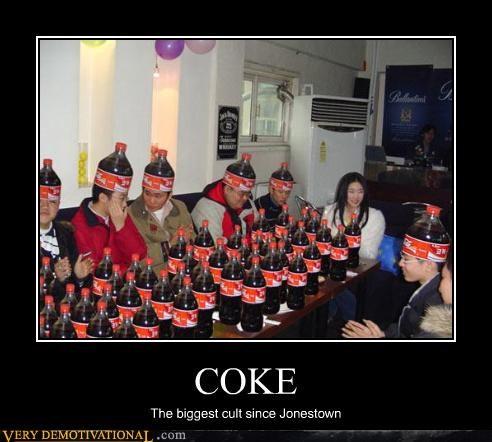 COKE The biggest cult since Jonestown