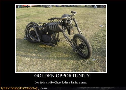 comic book ghost rider golden opportunity hilarious motor cycle superhero