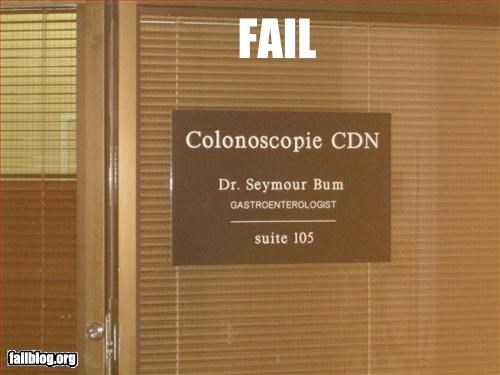 appropriate bum colon doctor g rated name - 2979759104