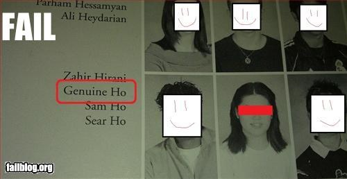 ho name school yearbook - 2982884352