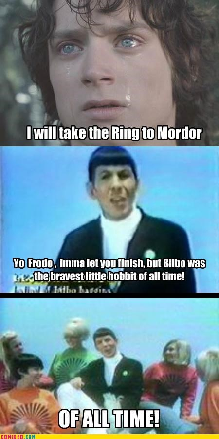 From the Movies Leonard Nimoy Lord of The Ring Songs Star Trek