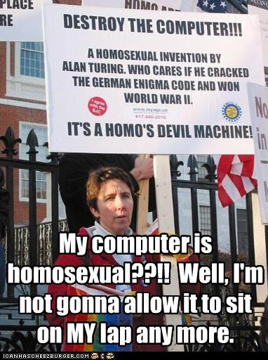 computers gay rights homosexual irony protesters - 2984919040