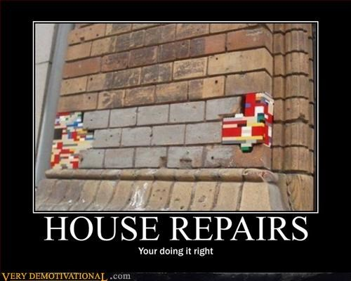 hilarious,legos,Pure Awesome,repairs