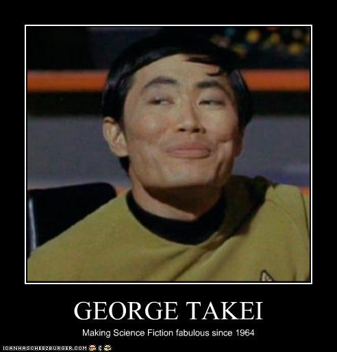 GEORGE TAKEI Making Science Fiction fabulous since 1964