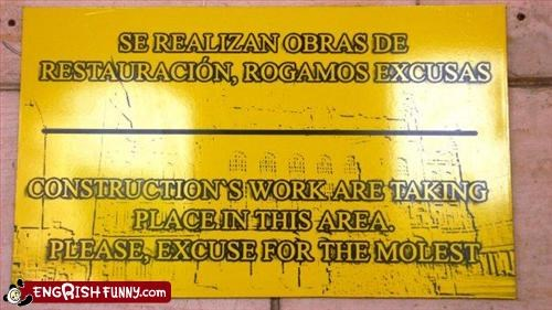 construction excuse g rated molest please signs work