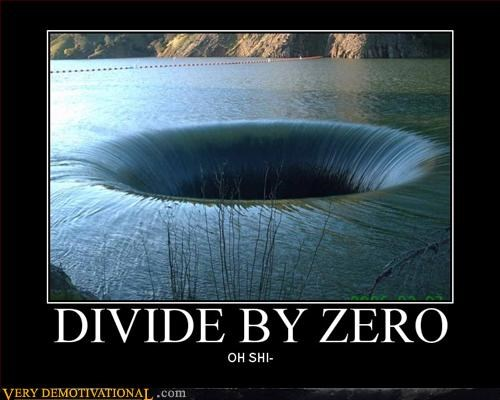 divide end of the world math Terrifying zero
