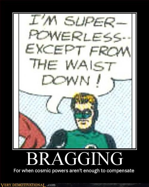 bragging comic Green lantern hilarious superhero - 2990310656