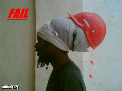 dreadlocks g rated hair hard hat hat protection - 2990310912