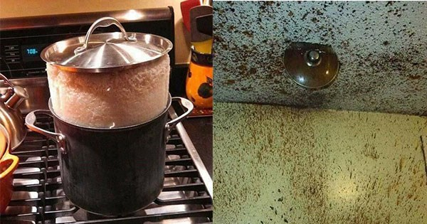 destrozo cocina