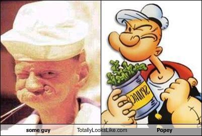 guy,hat,popeye,squint