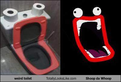 face meme shoop da whoop smiling toilet