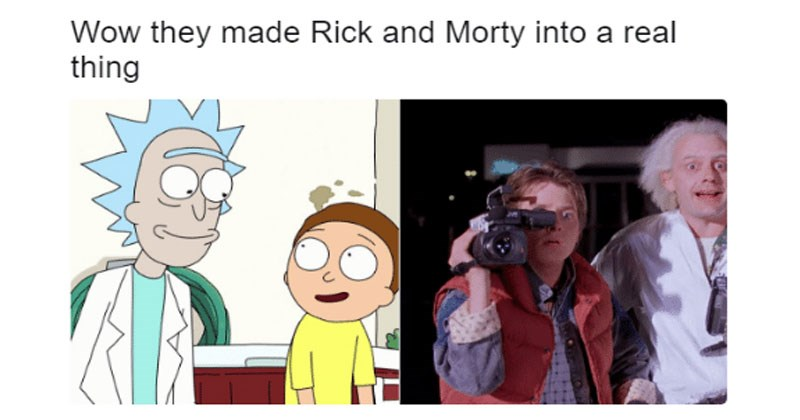 Collection of Rick and Morty memes to celebrate season 3, lots of pickle rick.