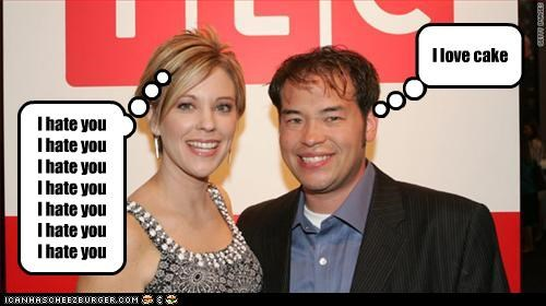 cake,hate,jon and kate plus 8,jon gosselin,kate gosselin
