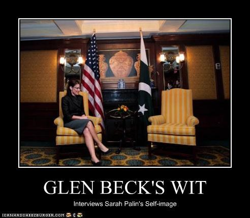 GLEN BECK'S WIT Interviews Sarah Palin's Self-image