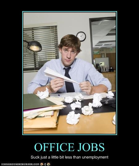 jobs,john krasinski,the office,work