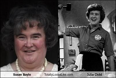 chef,julia child,singers,susan boyle