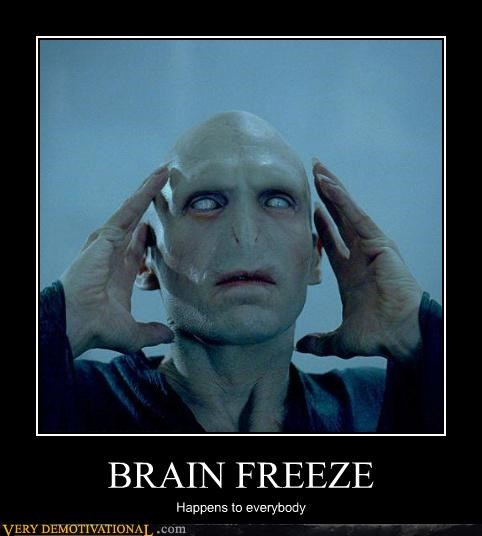 Harry Potter,voldemort,brain freeze