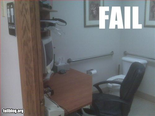 g rated Office privacy toilet work wtf - 2997339648