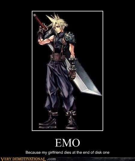 emo,cloud,final fantasy VII