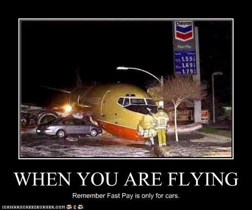 airplanes gas station plane crash