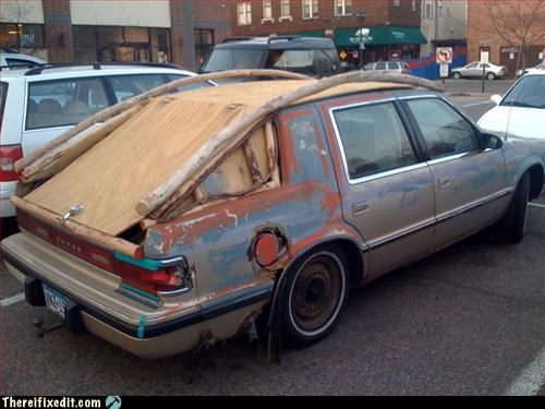 beyond repair,car,mod,rusty