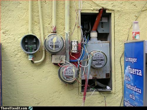 electrical hazard lazy landlord wiring - 3001084416