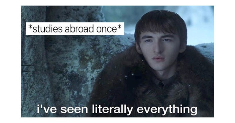 Collection of funny memes about Game of Thrones, OCD, weed, dating, food, school, ice cream, music, relationships, fashion.