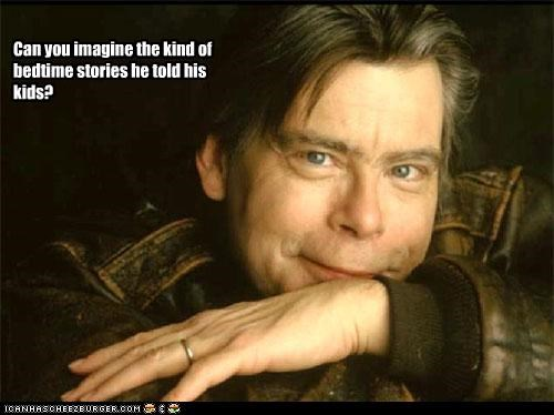 authors,horror,scary,stephen king