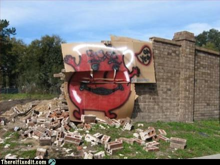 awesome,kool-aid man,wall,win