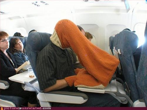 airplane snuggie Travel wtf - 3006072576