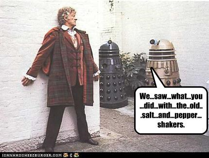 daleks,doctor who,sci fi,tom baker