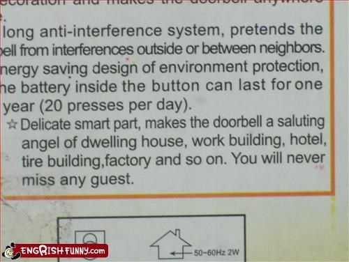 angel bell building door bell factory g rated hotel house part salute smart tire work