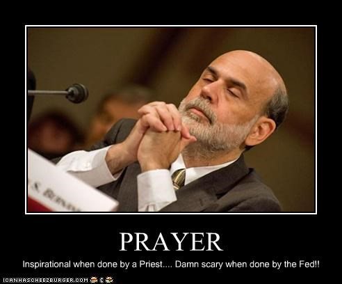 PRAYER Inspirational when done by a Priest.... Damn scary when done by the Fed!!