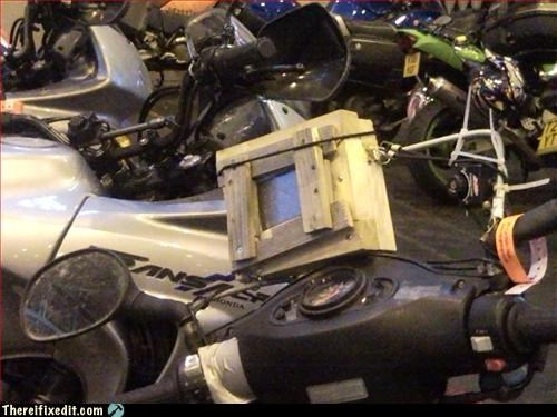 gps-motorcycle,mount,wood