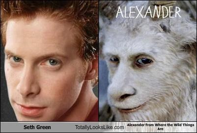 actor alexander books maurice sendak seth green where the wild things are