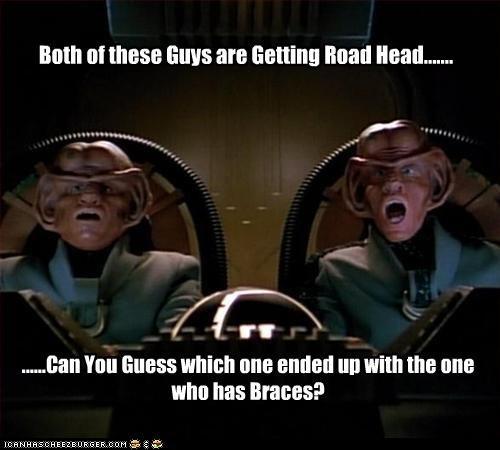 Pretty guys road head